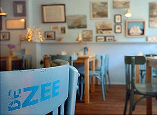 Interieur restaurant De ZEE
